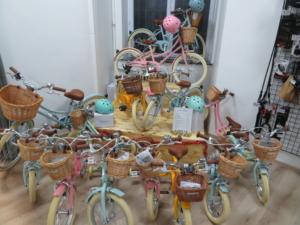 Les vélos enfants sont arrivés pour Noël